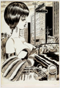 Original Comic Art:Illustrations, Bill Ward Laugh Digest December-1965 Illustration OriginalArt (Humorama, 1965)....