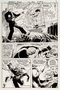 Original Comic Art:Panel Pages, Jim Aparo The Brave and the Bold #170 Story Page 5 OriginalArt (DC, 1981)....