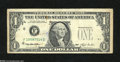 Error Notes:Third Printing on Reverse, Fr. 1918-F $1 1993 Federal Reserve Note. Very Good-Fine....