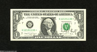Fr. 1916-G* $1 1988A Federal Reserve Note with Courtesy Autograph. Superb Gem New. A splendid courtesy autographed note...