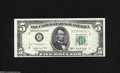Small Size:Federal Reserve Notes, Fr. 1964-B* $5 1950C Federal Reserve Note. Very Choice New....