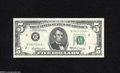 Small Size:Federal Reserve Notes, Fr. 1970-B* $5 1969A Federal Reserve Note. Gem New....