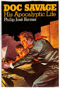 Doc Savage: His Apocalyptic Life by Philip Jose Farmer Hardcover Signed First Edition from the Estate of Dave Stevens...