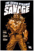 Modern Age (1980-Present):Miscellaneous, Doc Savage: The Silver Pyramid Trade Paperback with Signed Promo Card (DC, 2009) Condition: NM....