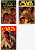 Books:General, Doc Savage Ideal Library Hardcover Editions Group of 3 (Street & Smith, 1933) Condition: Average Fine.... (Total: 3 Items)