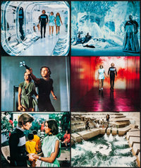 """Logan's Run (MGM, 1976) Very Fine+. Deluxe Lobby Card Set of 12 (11"""" X 14""""). Science Fiction.... (Total: 12 It..."""