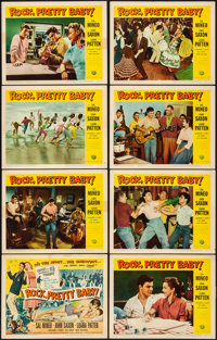 "Rock, Pretty Baby (Universal International, 1957). Very Fine-. Lobby Card Set of 8 (11"" X 14""). Rock and Roll..."
