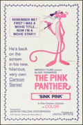 """Movie Posters:Animation, Sink Pink (United Artists, 1965) Folded, Very Fine. One Sheet (27"""" X 41""""). Animation...."""