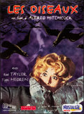 """Movie Posters:Hitchcock, The Birds (Carlotta, R-1999) Folded, Very Fine-. French Grande (45.5"""" X 62""""). Hitchcock...."""