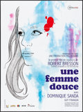 """Movie Posters:Foreign, A Gentle Woman & Other Lot (Acacias, R-2013) Folded, Very Fine. French Grande (46.25"""" X 62.5"""") Chica Artwork, & Belgian (14.... (Total: 2 Items)"""