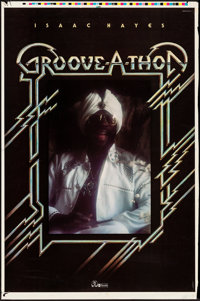 "Groove-A-Thon (ABC Records, 1976) Rolled, Fine+. Trimmed Printer's Proof Poster (Approx. 25.25"" X 38""). Musica..."