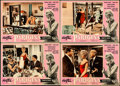 "Movie Posters:Foreign, La Parisienne (Cineriz, 1958) Folded, Fine/Very Fine. Italian Photobustas (4) (19"" X 27""). Foreign.... (Total: 4 Items)"