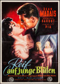 """Movie Posters:Foreign, School for Love (Pallas, 1955) Folded, Fine+. German A1 (24"""" X 33.75"""") Rehak Artwork. Foreign...."""