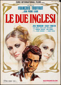 """Movie Posters:Foreign, Two English Girls & Other Lot (Euro International, 1972) Folded, Fine/Very Fine. Italian 2 - Foglis (2) (39.25"""" X 55.25"""") Ro... (Total: 2 Items)"""