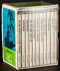 "Movie Posters:James Bond, James Bond Signet Book Set (The New American Library, 1963). Fine/Very Fine. Paperback Book Set of 10 (Multiple Pages, 4.25""... (Total: 11 Items)"