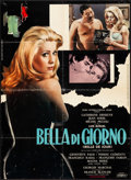 "Movie Posters:Foreign, Belle de Jour (Euro International, 1967) Folded, Fine/Very Fine. Italian Photobusta (26.25"" X 36.25""). Foreign...."