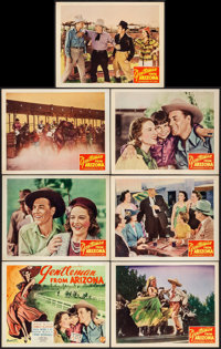 The Gentleman from Arizona & Others Lot (Monogram, 1939) Overall: Very Fine-. Title Lobby Cards (3), Lobby Cards (8)...