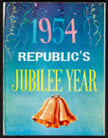 """Movie Posters:Miscellaneous, Republic's Jubilee Year Exhibitor Book (Republic, 1954) Fine+. Exhibitor Book (38 Pages, 9.25"""" X 12.25""""). Miscellaneous...."""