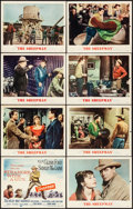 """Movie Posters:Western, The Sheepman & Other Lot (MGM, 1958) Fine/Very Fine. Lobby Card Sets of 8 (2 Sets) (11"""" X 14""""). Western.... (Total: 16 Items)"""