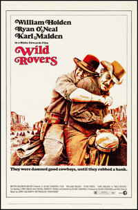 """Wild Rovers & Others Lot (MGM, 1971) Fine/Very Fine on Linen. One Sheets (2) (27.25"""" X 40.75"""" & 27&quo..."""