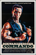 """Movie Posters:Action, Commando (20th Century Fox, 1985) Flat Folded, Very Fine-. One Sheet (27"""" X 41""""). Action.. ..."""