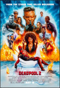 "Movie Posters:Action, Deadpool 2 (20th Century Fox, 2018) Rolled, Very Fine+. One Sheet (27"" X 40"") DS Advance, Style E. James Goodridge Artwork. ..."