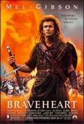 "Movie Posters:Action, Braveheart (Paramount, 1995) Rolled, Very Fine+. One Sheet (27"" X 40"") SS Advance. Action.. ..."