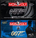 Movie Posters:James Bond, Monopoly James Bond 007 Collector's Edition & Other Lot (Hasbro, 2006) Overall Grade: Very Fine/Near Mint. Unopened Monopoly... (Total: 2 Items)