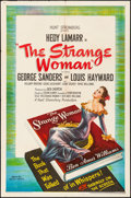 "Movie Posters:Film Noir, The Strange Woman (United Artists, 1946) Folded, Very Fine-. One Sheet (27"" X 41""). Film Noir...."