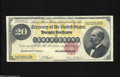 Large Size:Gold Certificates, Fr. 1178 $20 1882 Gold Certificate Very Fine-Extremely Fine....