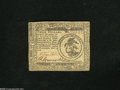 Colonial Notes:Continental Congress Issues, Continental Currency November 2, 1776 $3 About Uncirculated....
