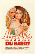 """Movie Posters:Romance, Madame Du Barry (Warner Brothers, 1934). Fine+ on Linen. One Sheet(27"""" X 41"""").. ..."""