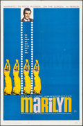 "Movie Posters:Documentary, Marilyn (20th Century Fox, 1963). Folded, Very Fine-. One Sheet (27"" X 41""). Documentary.. ..."