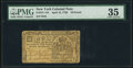 Colonial Notes:New York, New York April 15, 1758 £10 PMG Choice Very Fine 35.. ...