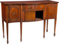 Furniture , An American Federal-Style Mahogany Sideboard, late 19th century. 36 x 54-3/4 x 18-1/4 inches (91.4 x 139.1 x 46.4 cm). PRO...