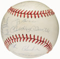 Autographs:Baseballs, 1962 New York Yankees - World Series Champs - Team Signed Baseball(25 Signatures)....