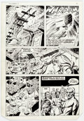 Original Comic Art:Panel Pages, Dick Ayers and Tony DeZuniga The Mighty Crusaders #6 StoryPage 2 Original Art (Archie, 1984)....