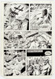 Dick Ayers and Tony DeZuniga The Mighty Crusaders #6 Story Page 2 Original Art (Archie, 1984)