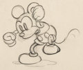 Animation Art:Production Drawing, The Mad Doctor Mickey Mouse Production Drawing (Disney, 1933)....