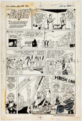 "Original Comic Art:Complete Story, Curt Swan and Tex Blaisdell Hostess Cup Cakes Ad ""The Flashin 'Marathon Madman'"" Complete 1-Page Story Original A..."