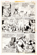 Original Comic Art:Panel Pages, Larry Hama and Dick Giordano Marvel Premiere #19 (Iron Fist)Story Page 7 Original Art (Marvel, 1974)....