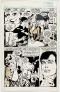 Original Comic Art:Panel Pages, Howard Chaykin Black Kiss #4 Story Page 5 Original Art(Vortex, 1988)....