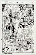 Original Comic Art:Panel Pages, Scot Eaton and Tom Christopher Silver Surfer Annual #7 StoryPage 11 Original Art (Marvel, 1994)....