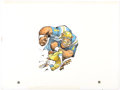 Original Comic Art:Illustrations, Jack Davis UCLA Bruins Football Illustration Original Art(Hot Shots, c. 1990s). ...