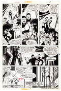 Original Comic Art:Panel Pages, George Tuska and Dave Hunt Power Man #24 Story Page 5Original Art (Marvel, 1975)....