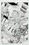 Original Comic Art:Panel Pages, Ethan Van Sciver and John Stokes Impulse #63 Story Page 6Original Art (DC, 2000)....