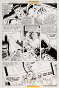 Original Comic Art:Panel Pages, Jim Aparo Brave and the Bold #135 Story Page 10 Original Art(DC, 1977)....