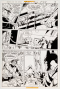 Original Comic Art:Panel Pages, Jim Aparo Brave and the Bold #135 Story Page 7 Original Art(DC, 1977)....