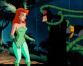 Animation Art:Production Cel, Batman: The Animated Series Poison Ivy and Batman ProductionCel (Warner Brothers, 1992)....