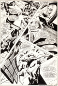 Original Comic Art:Panel Pages, Gene Colan and George Klein Sub-Mariner #11 Story Page 18 Original Art (Marvel, 1969)....